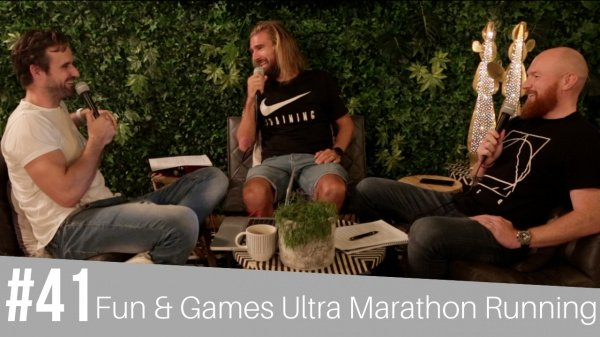 #41 Fun & Games Ultra Marathon Running - Lee Grantham
